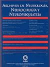Archivos de Neurología, Neurocirugía y Neuropsiquiatría