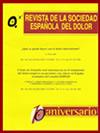Revista de la Sociedad Española de Dolor