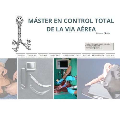 Máster en Control Total de la Vía Aérea @ Máster Virtual