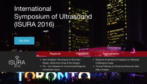 International Symposium of Ultrasound (ISURA 2016) @ The University of St. Michael's College University of Toronto | Toronto | Ontario | Canadá